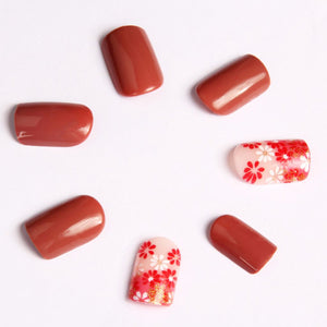 Autumn Forest Press-On Nails