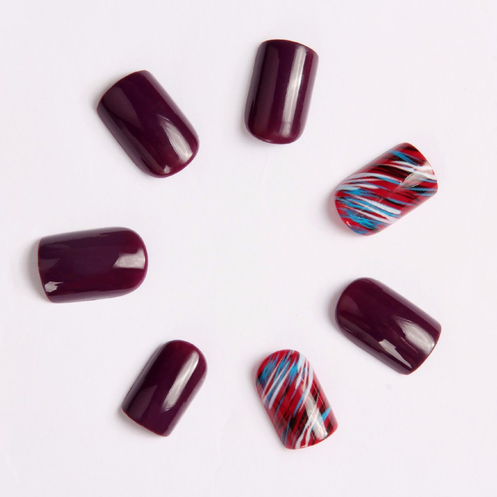 Cool Berry Press-on Nails