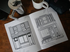 The Coffee Colouring Book (London Edition) - A4