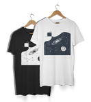Coffee Galaxy Spill T-Shirt