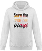 Sweat Shirt à Capuche Homme - Save The Culture & Play Vinyl-Mister Galette