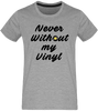 T-shirt Homme Col rond - Never Without my Vinyl-Mister Galette