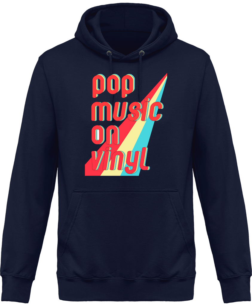 Sweat Shirt à Capuche Homme - Pop Music & Vinyl-Mister Galette