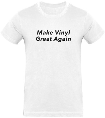 T-shirt Homme Col Rond - Make Vinyl Great Again