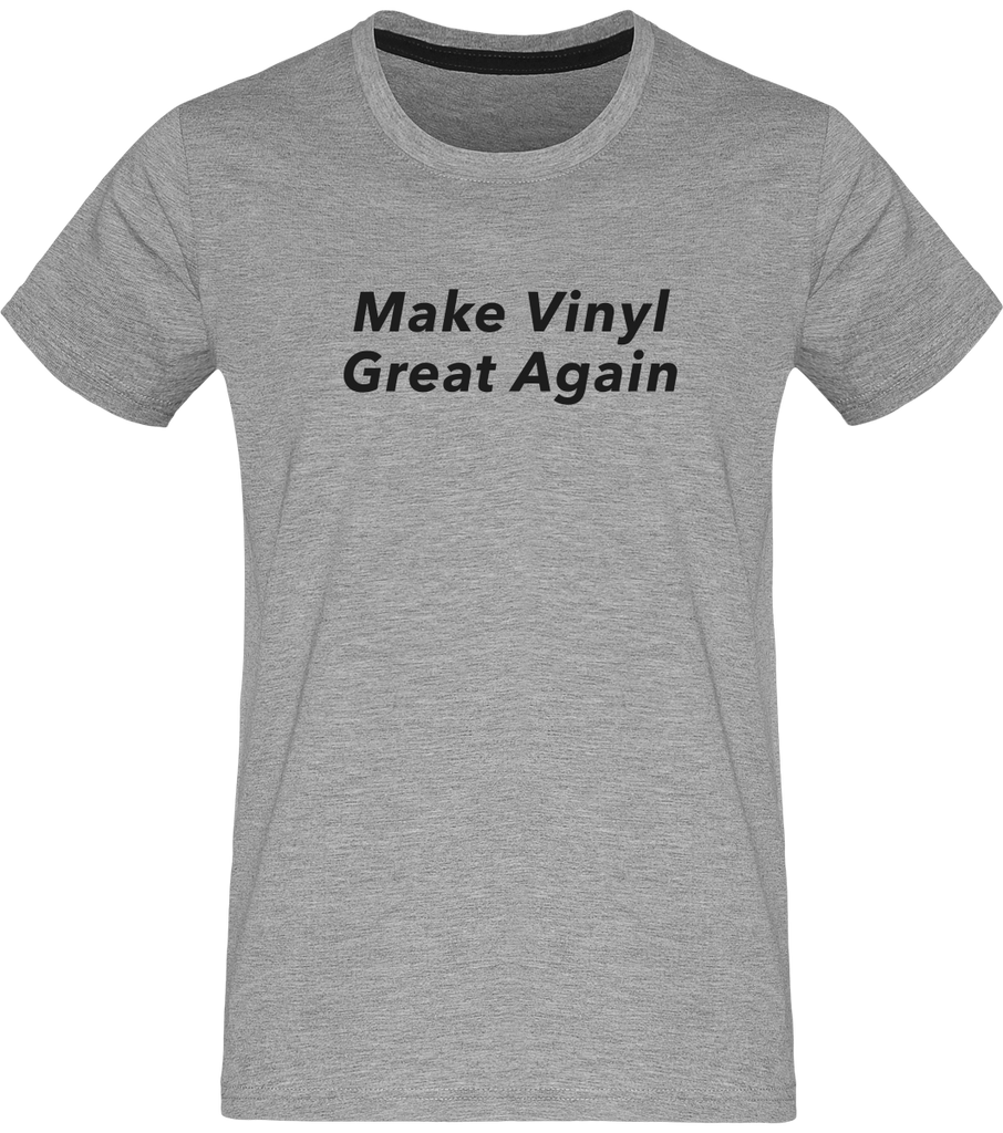 T-shirt Homme Col Rond - Make Vinyl Great Again-Mister Galette