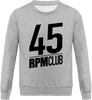 Sweat Homme Col rond - 45 RPM CLUB (black)-Mister Galette