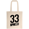 Tote Bag - 33 RPM Club