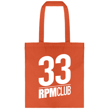 Tote Bag - 33 RPM Club blanc