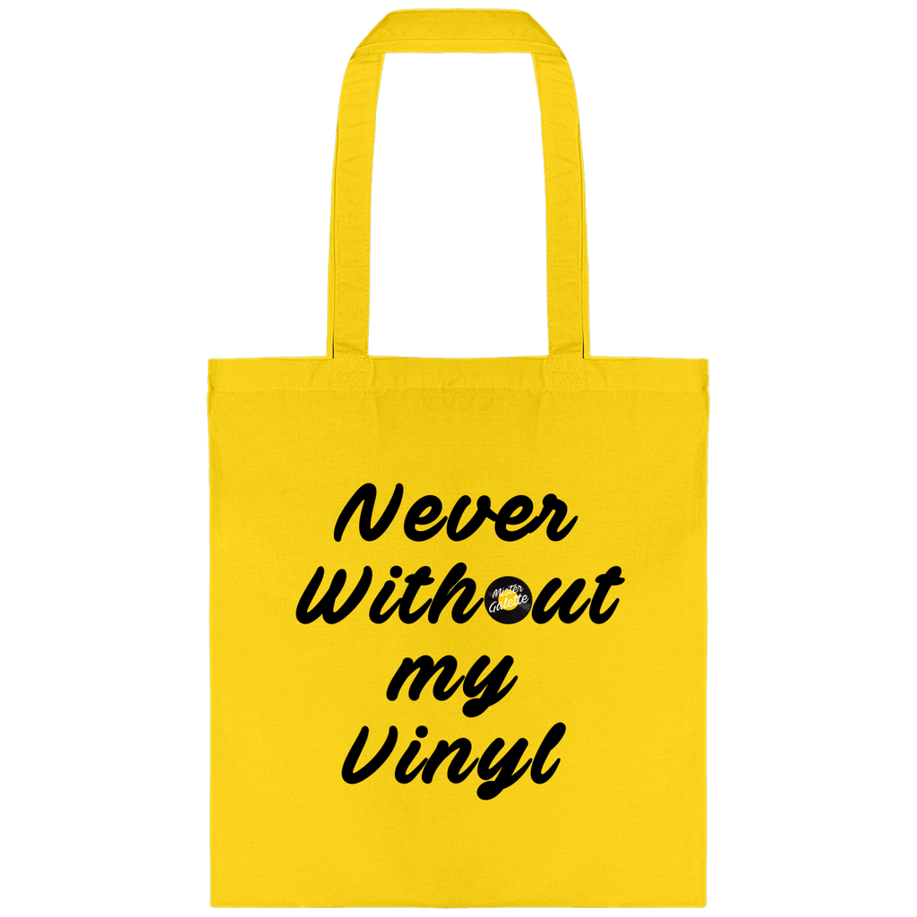 Tote Bag - Never Without My vinyl