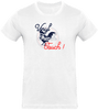T-shirt Homme Col rond - Vinyl French Touch and the Coq !