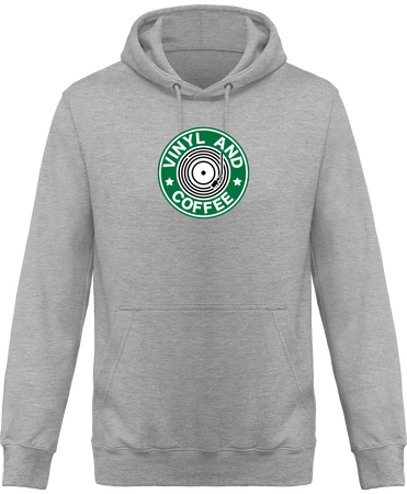 Sweat Shirt à Capuche Femme - Vinyl and Coffee