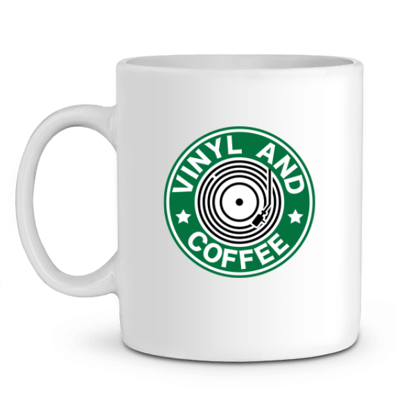 Mug - Vinyl and Coffee-Mister Galette