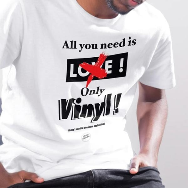 T-shirt Homme - All you need is Vinyl