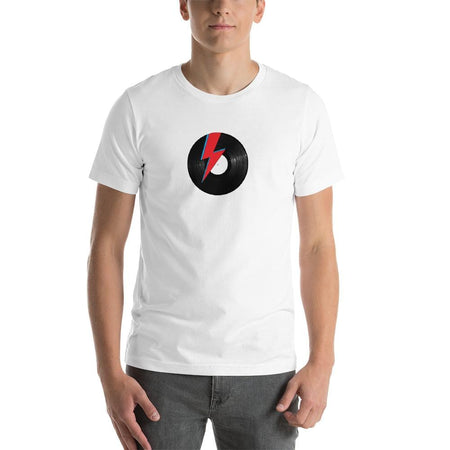 T-shirt homme Col rond - Bowie thunder