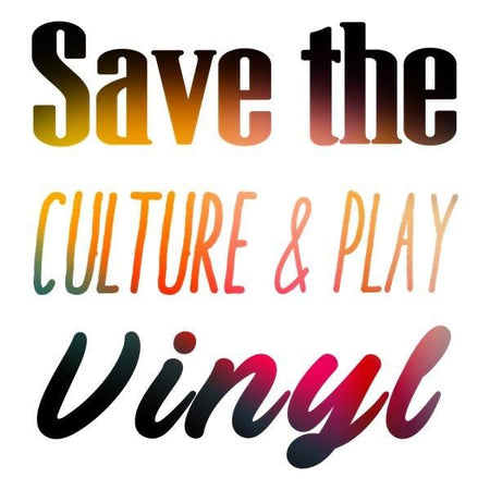 Débardeur Homme Bio - Save The Culture & Play Vinyl