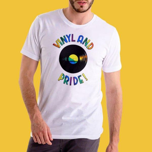 T-shirt Homme - Vinyl and Pride 🌈