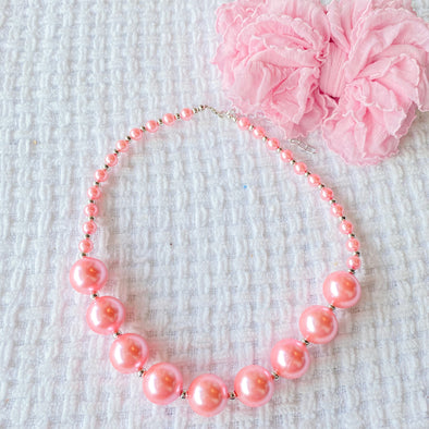 Chunky Necklace | Princess Pink