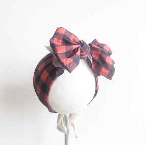 Emery Headband | Buffalo Check