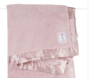 Chenille Blanket | Dusty Pink