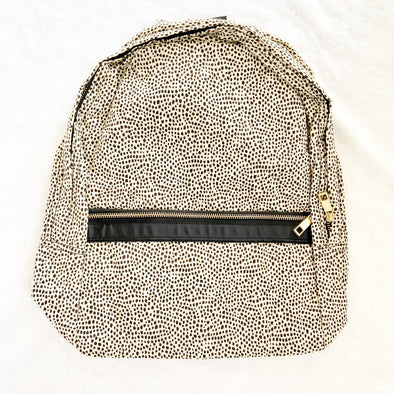 Seersucker Backpack | Cheetah