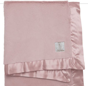 Luxe Baby Blanket | Dusty Pink