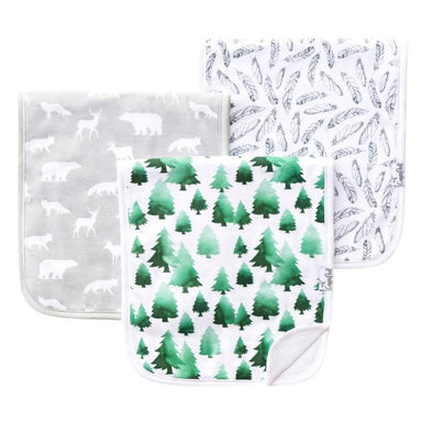 Burp Cloths | Woodland