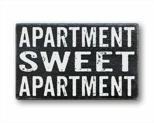 Apartment Sweet Apartment Sign