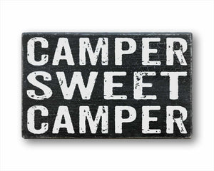 Camper Sweet Camper Sign