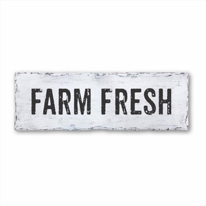 Farm Fresh Plank Sign