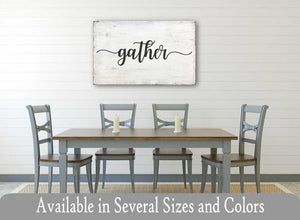 Gather Sign (Style 3)