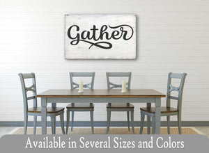 Gather Sign (Style 5)