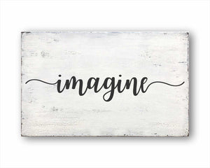 imagine box sign