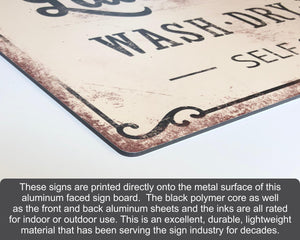 custom vintage metal sign