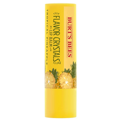 Burt's Bees Tropical Pineapple flavor crystals lip balm in the Philippines.