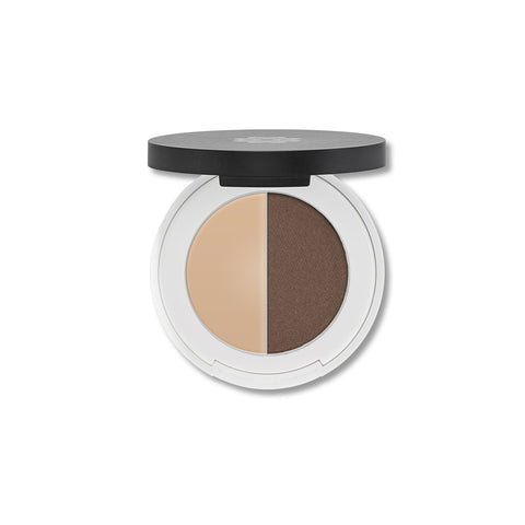 Lily Lolo Eyebrow Duo to make your eyebrows last a day.