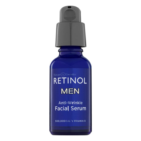 Men's Anti-Wrinkle Face Serum by Retinol is an affordable face serum.