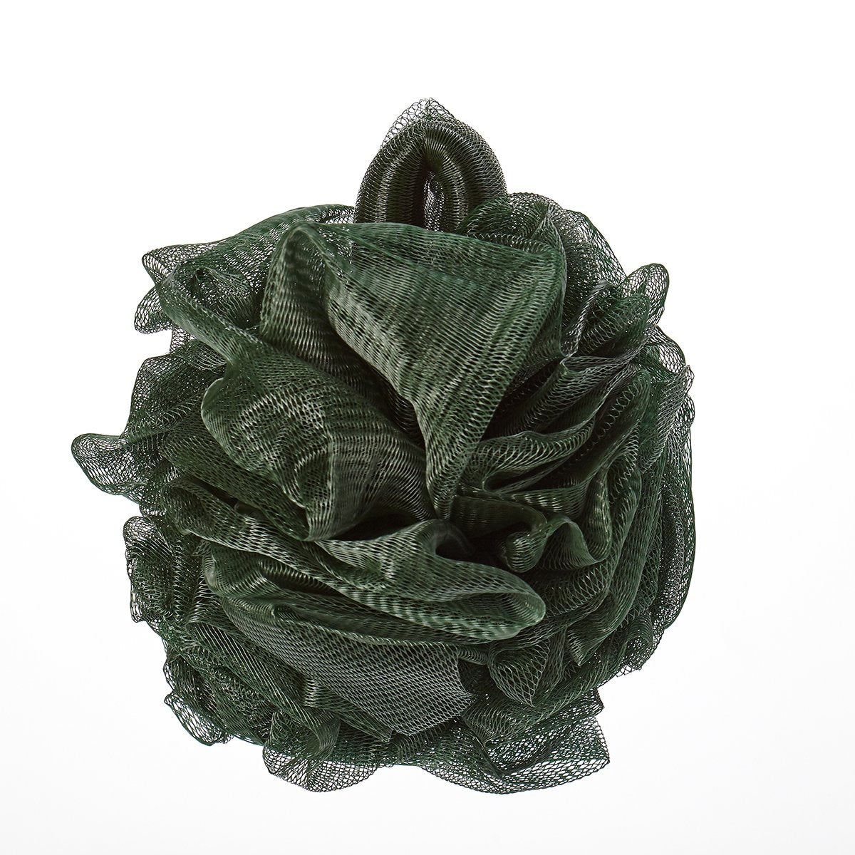 Hydro Body Sponge with Hand Strap - Dark Green