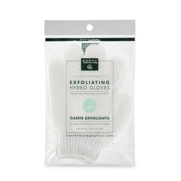 Exfoliating Hydro Gloves - White