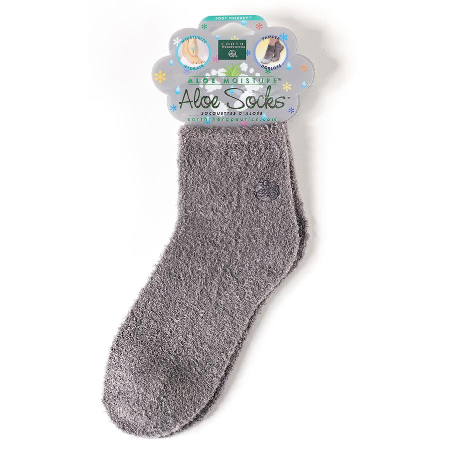 Aloe Moisture Aloe Socks - Gray