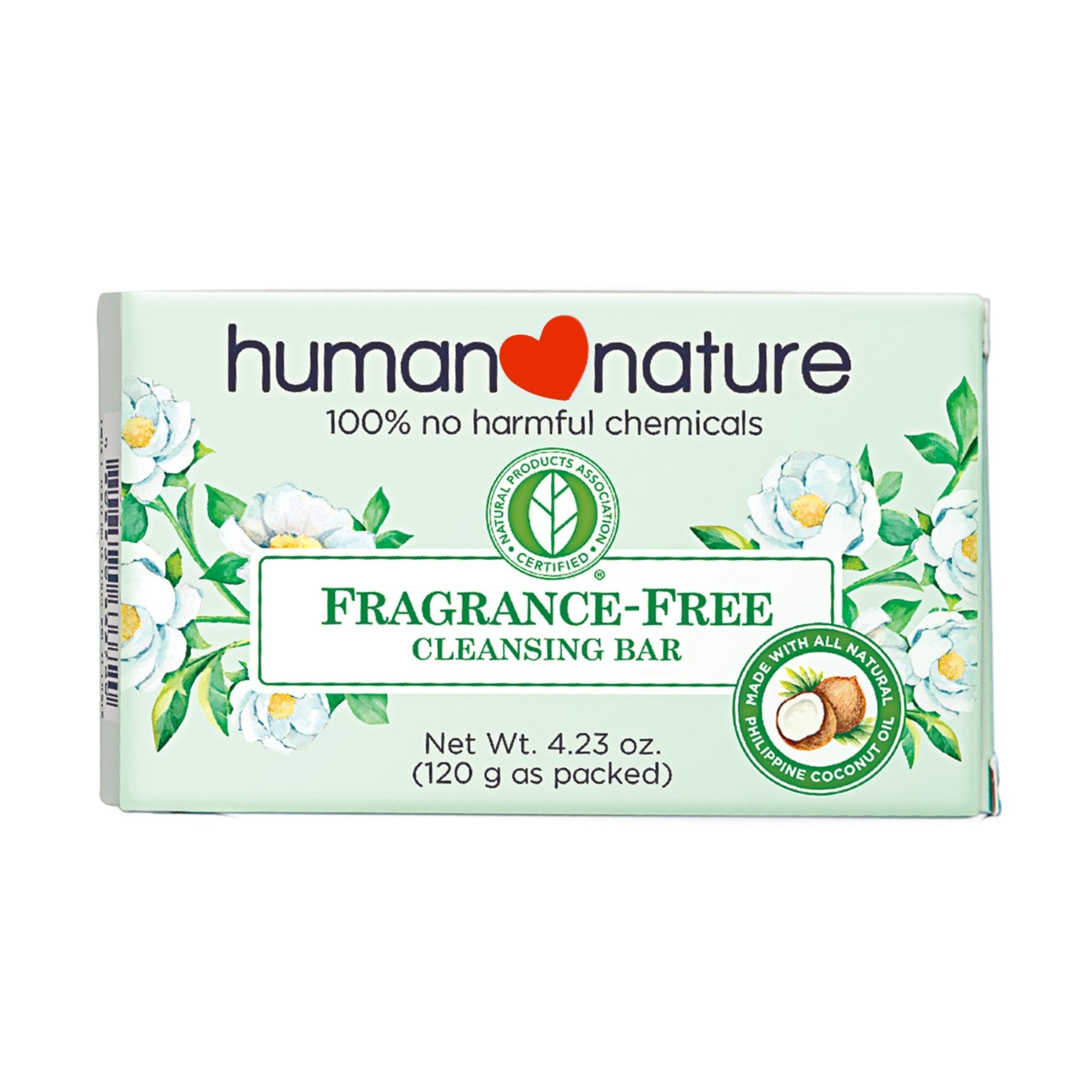 Fragrance-Free Cleansing Bar Soap 120g