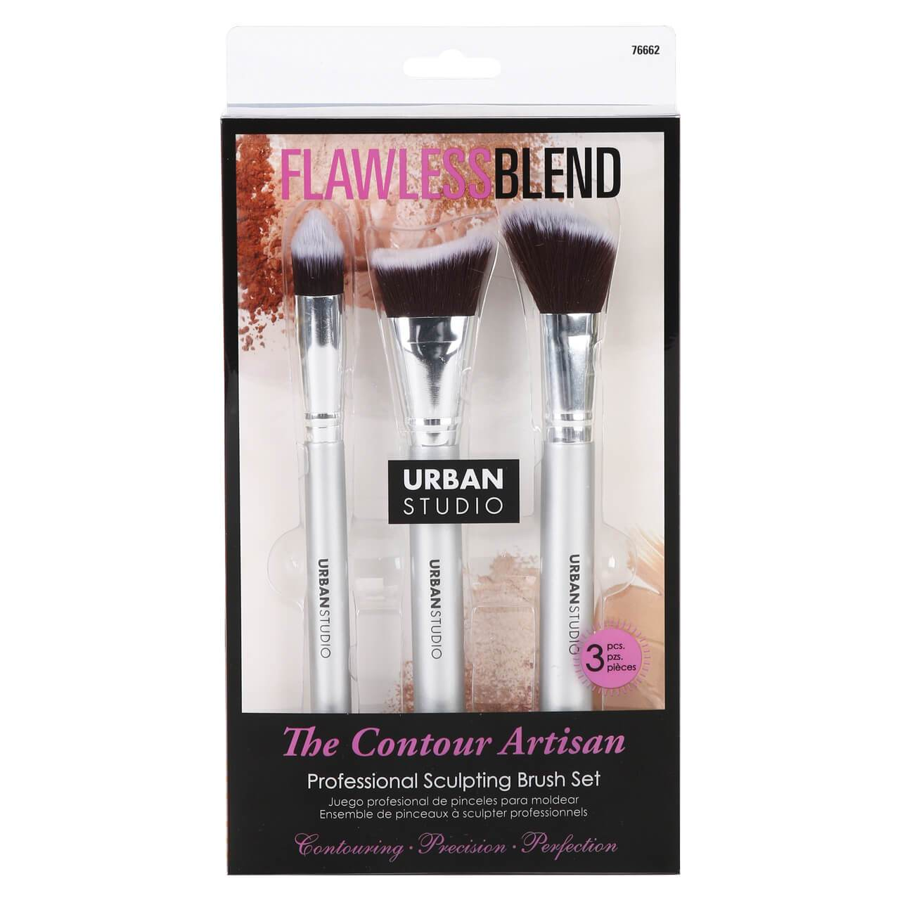 Urban Studio The Contour Artisan Brush Set (3 pcs)