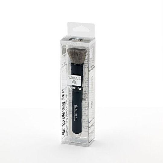 Flat Top Blending Brush with Purifying Bamboo Charcoal