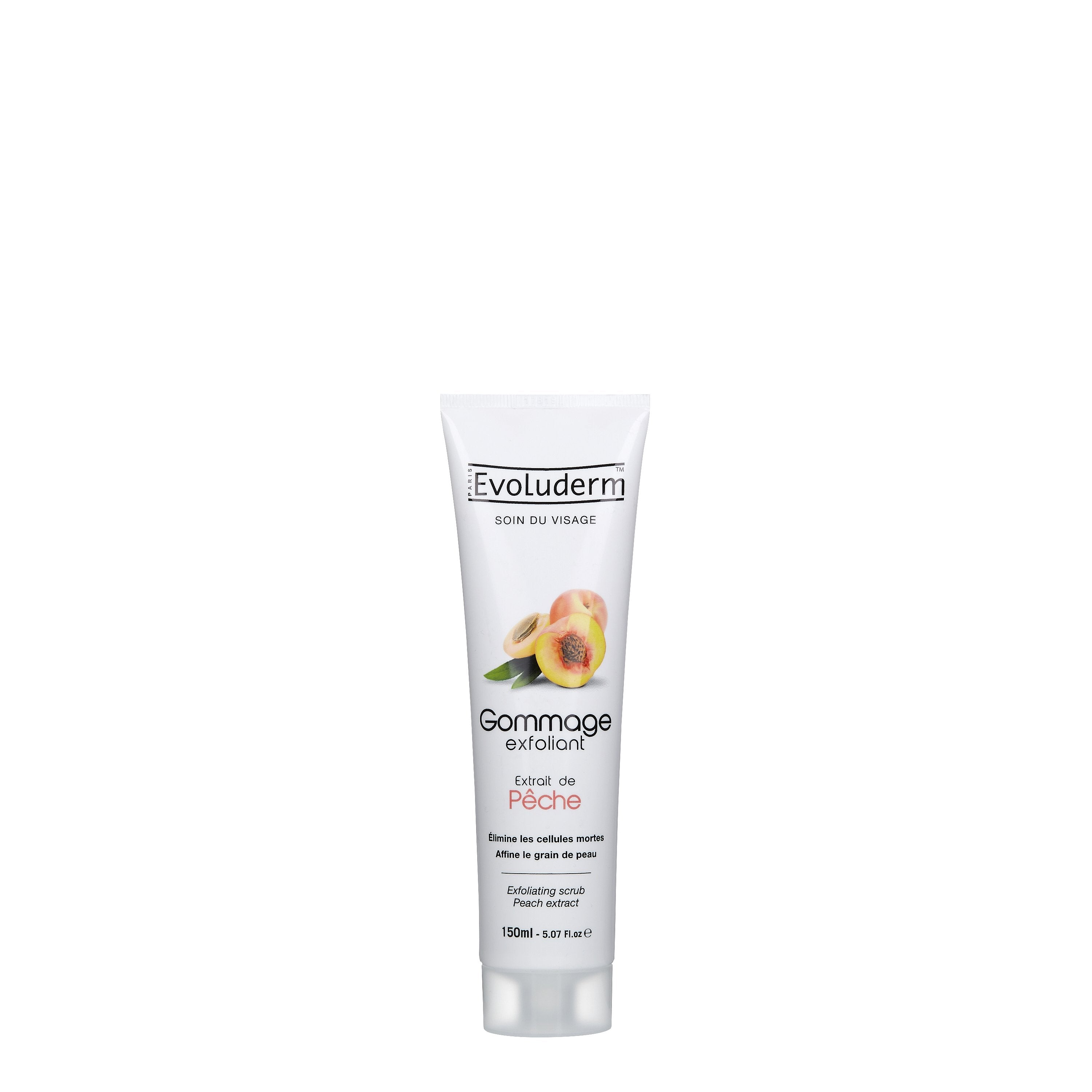 Exfoliating Face Scrub with Peach Extract
