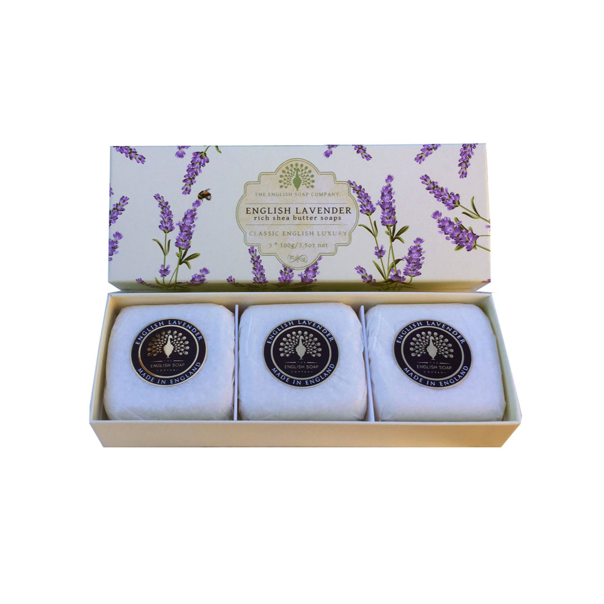 Gift Boxed Triple Soaps