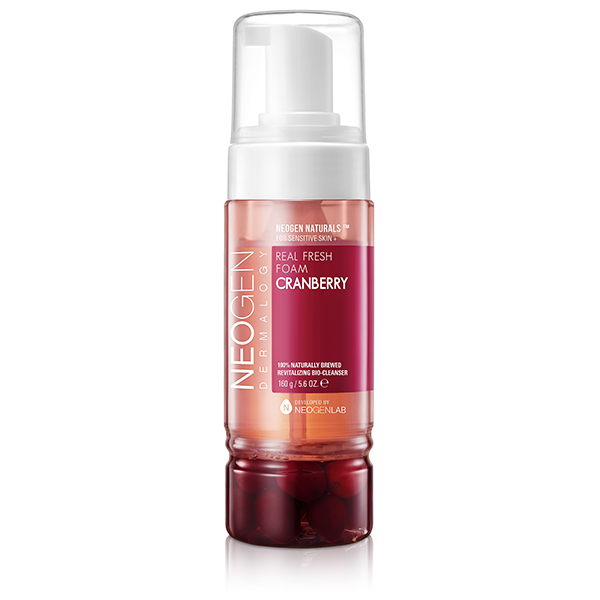 Real Fresh Foam Cranberry Cleanser