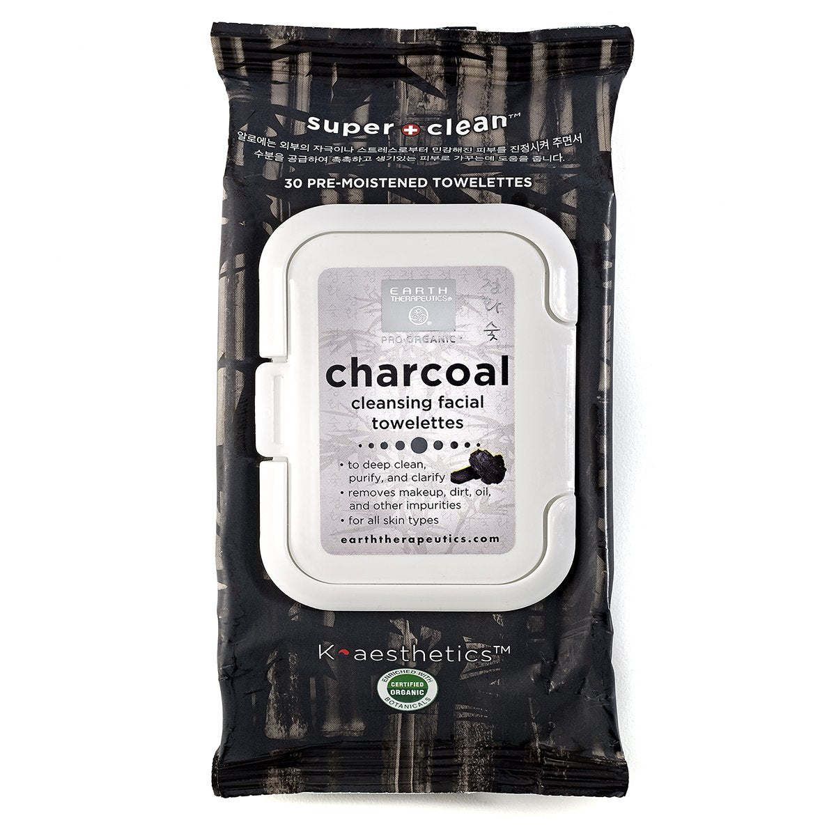 Charcoal Cleansing Facial Towelettes