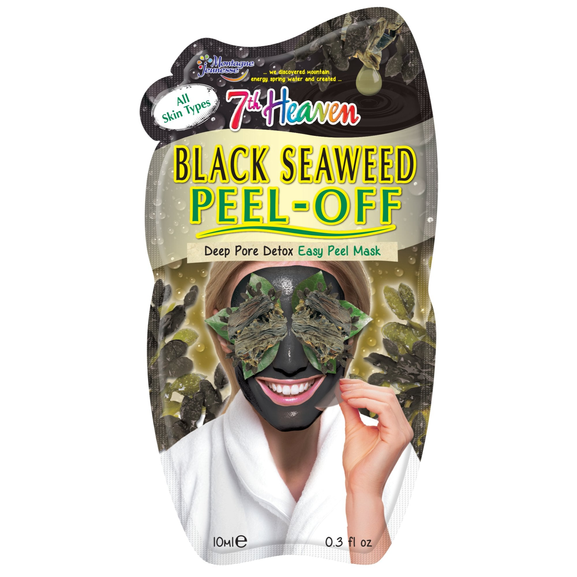 Black Seaweed Peel-Off Mask