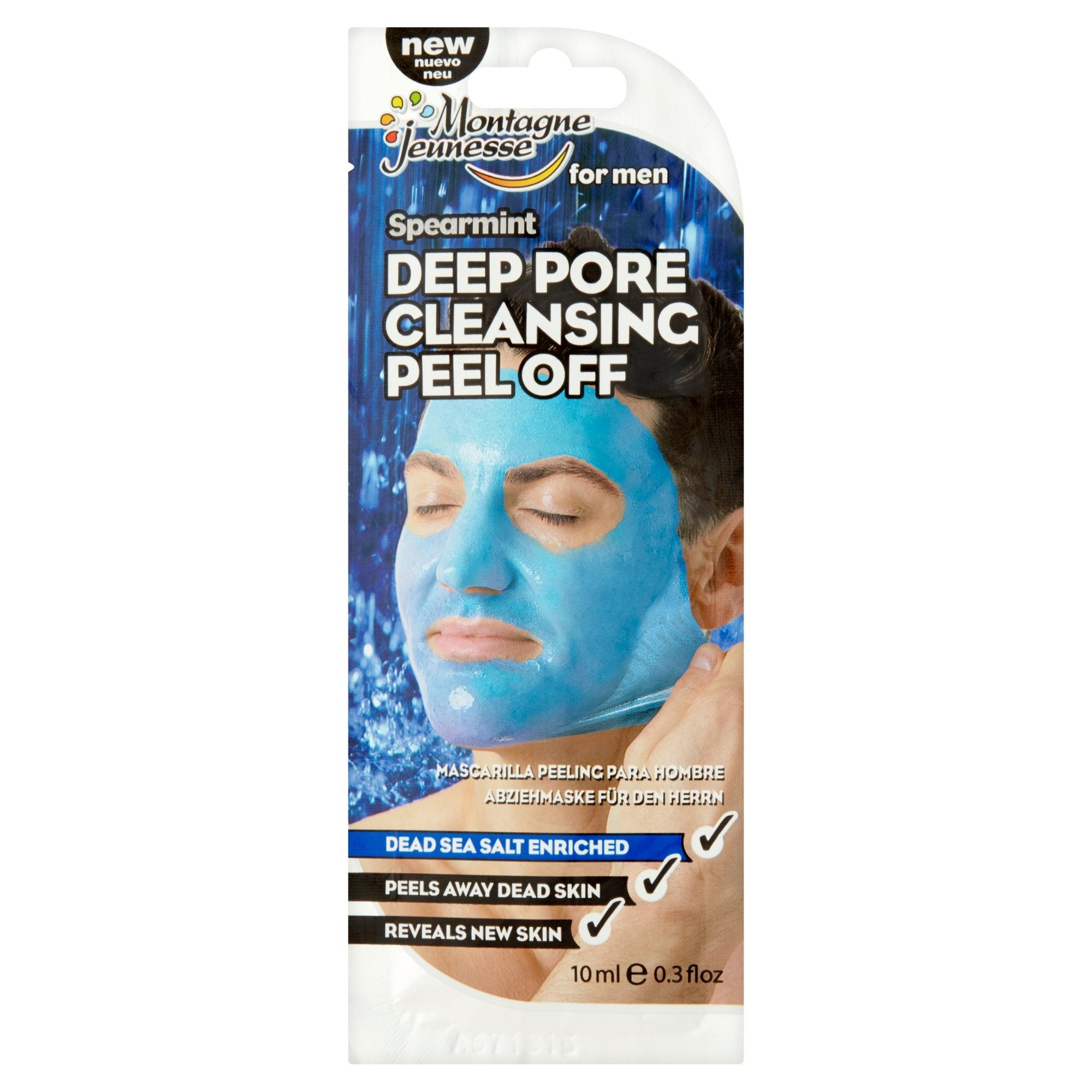 Men's Spearmint Deep Pore Cleansing Peel-Off Mask