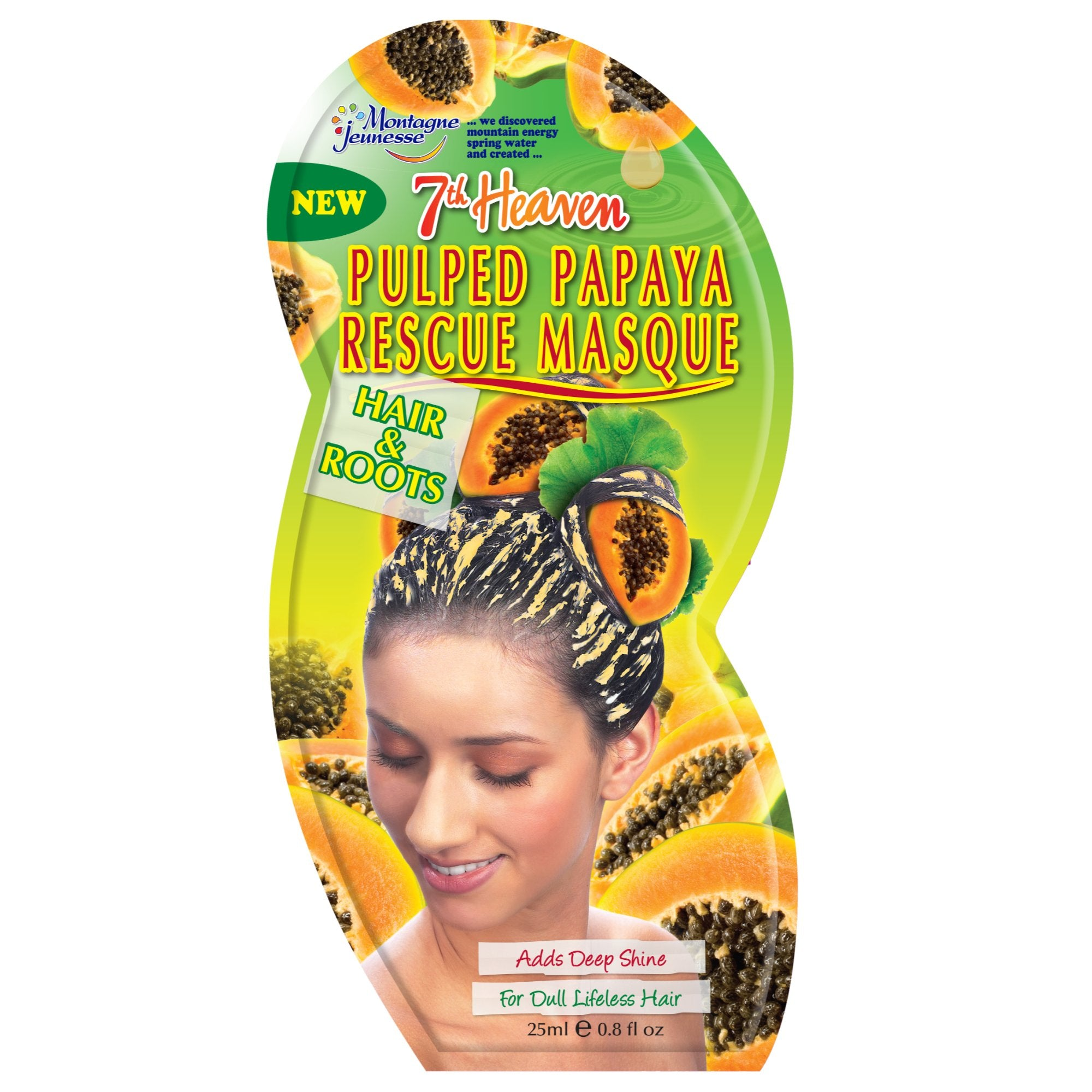 Pulped Papaya Hair Rescue Mask