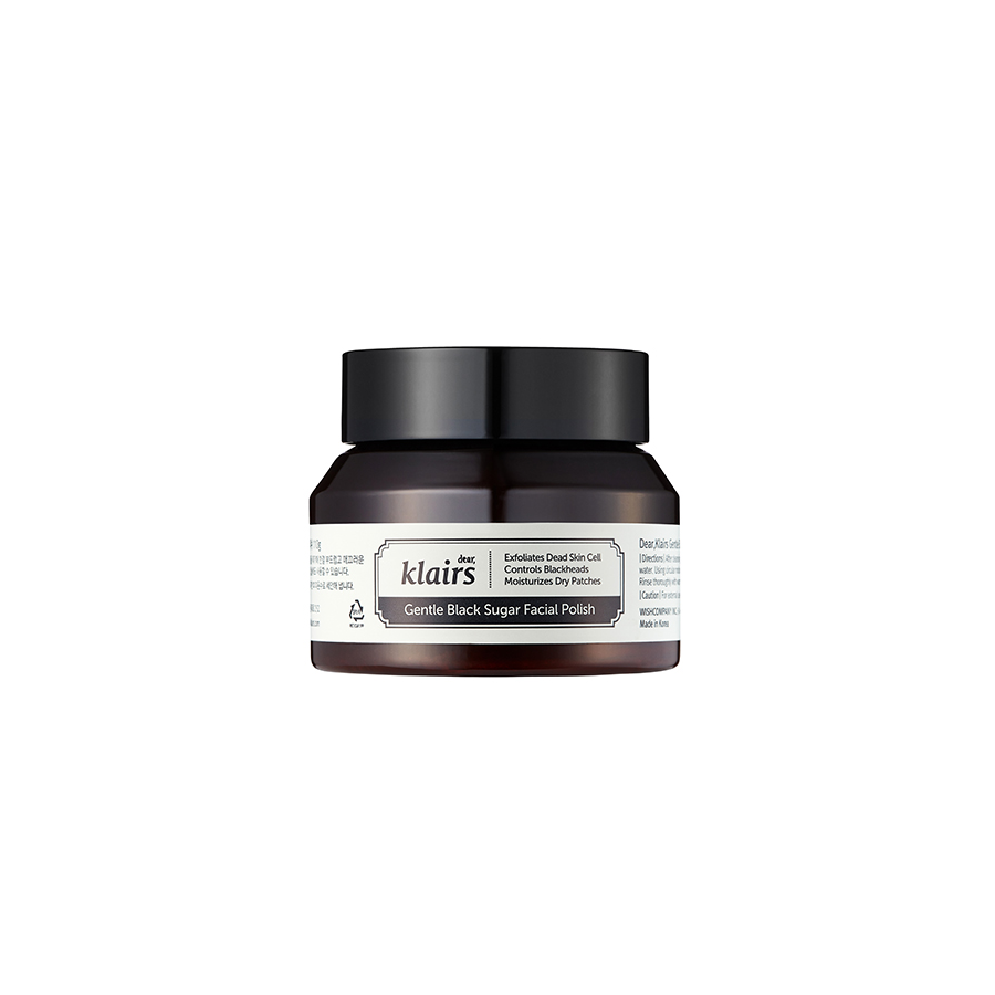 Gentle Black Facial Sugar Polish